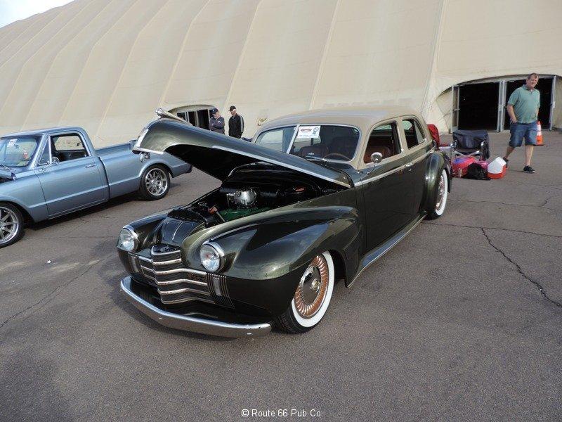 1940 Oldsmobile Hood Up