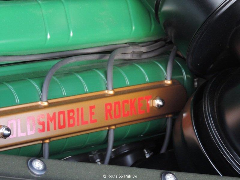 1940 Oldsmobile Engine Close Up