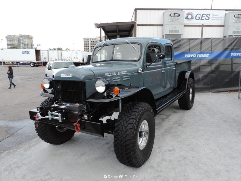 Power Wagon 1949 Driver's Front View
