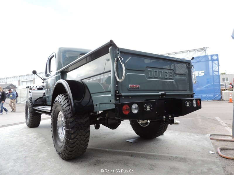 Power Wagon 1949 Rear View