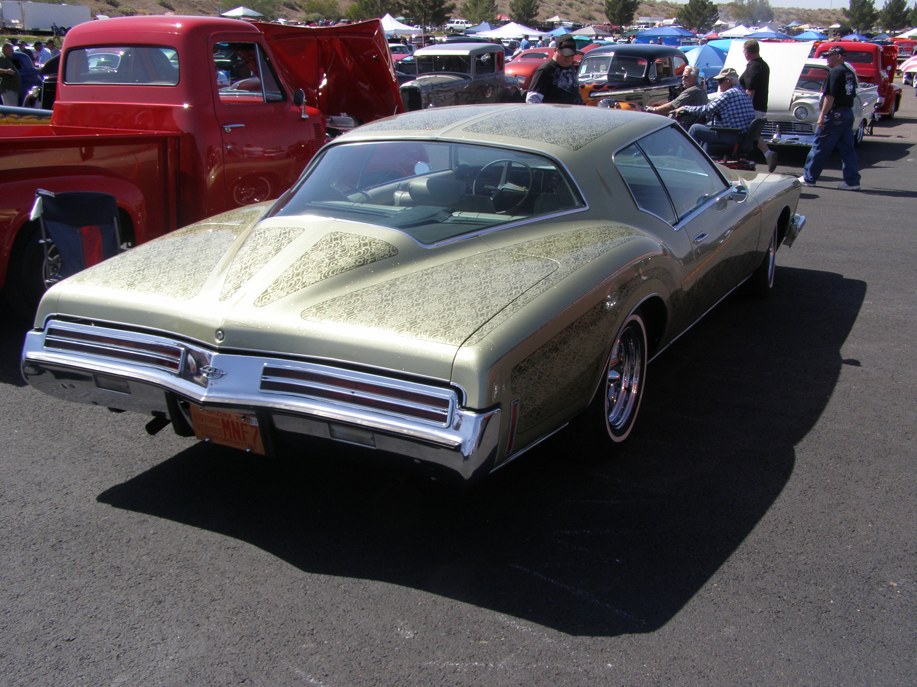 Lace Paint on Buick Riviera