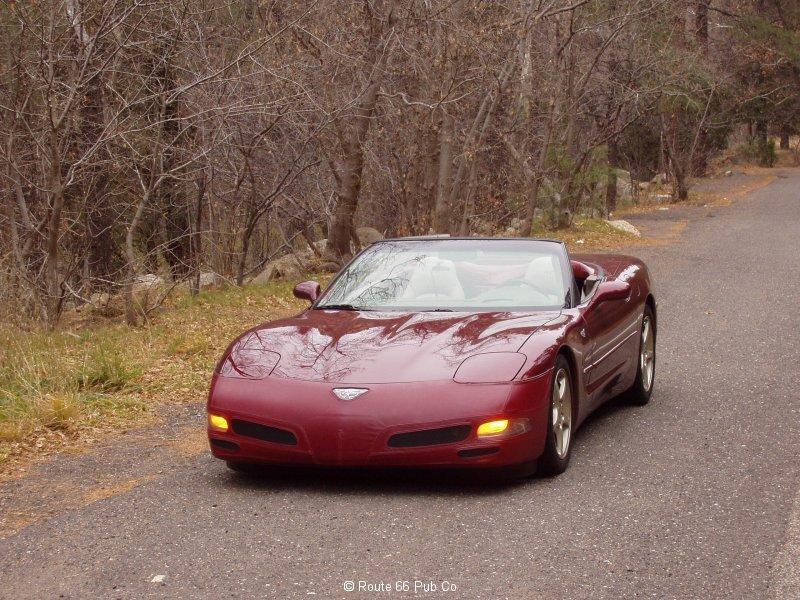 2003 Corvette Front End