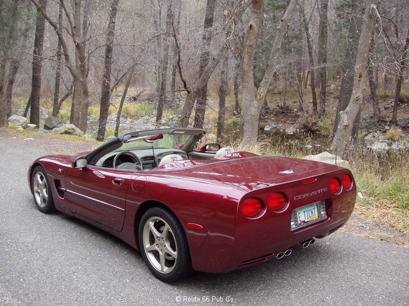 2003 Corvette Side view