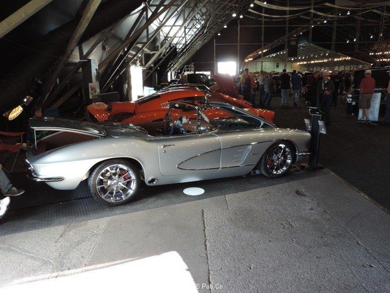 Passenger Side Rear 61 Corvette