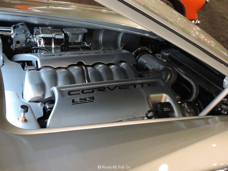 Engine Compartment 61 Corvette