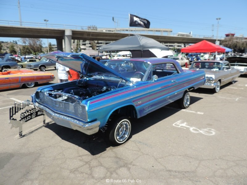 Lowriders Cars For Sale >> Engraved 64 Chevrolet Impala SS - Route 66 Pub Co