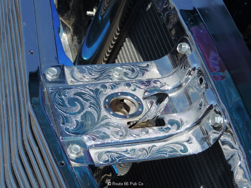 1964 Impala SS Engraved Hood Latch