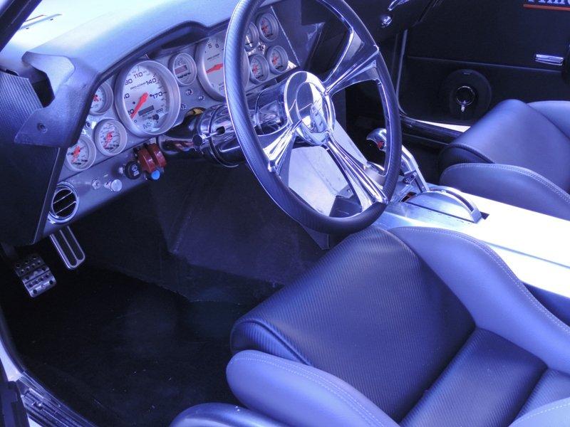 69 Camaro Interior