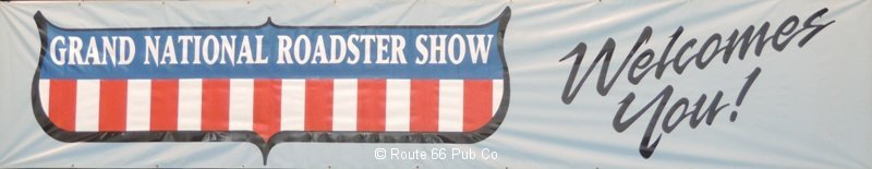 Grand National Roadster Show Banner