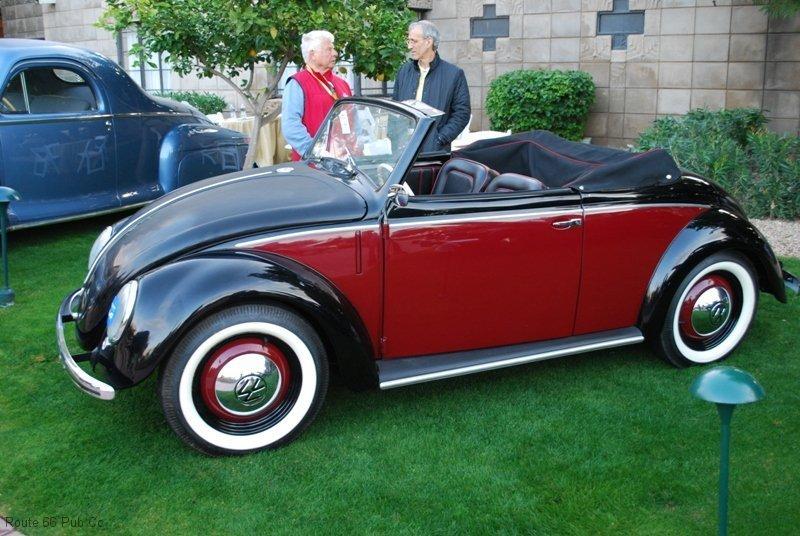 Arizona Concours D\'Elegance Award Winner 49 VW