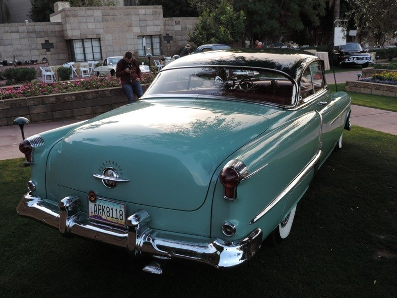 Arizona Concours D\'Elegance Award Winners 52 olds Rear View