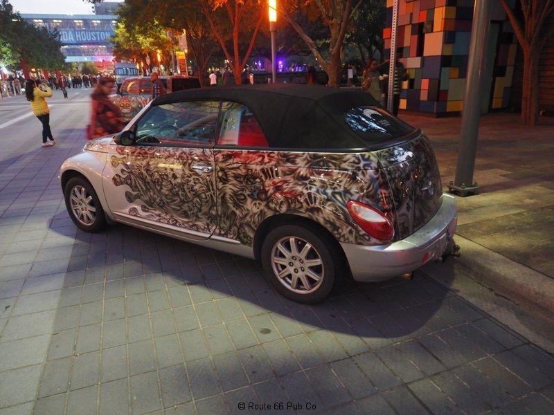 Art Car Skulls