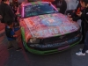 Chalk Art Car