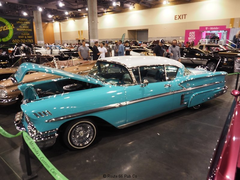 AZ Indoor Custom Car Show 57 Chevy