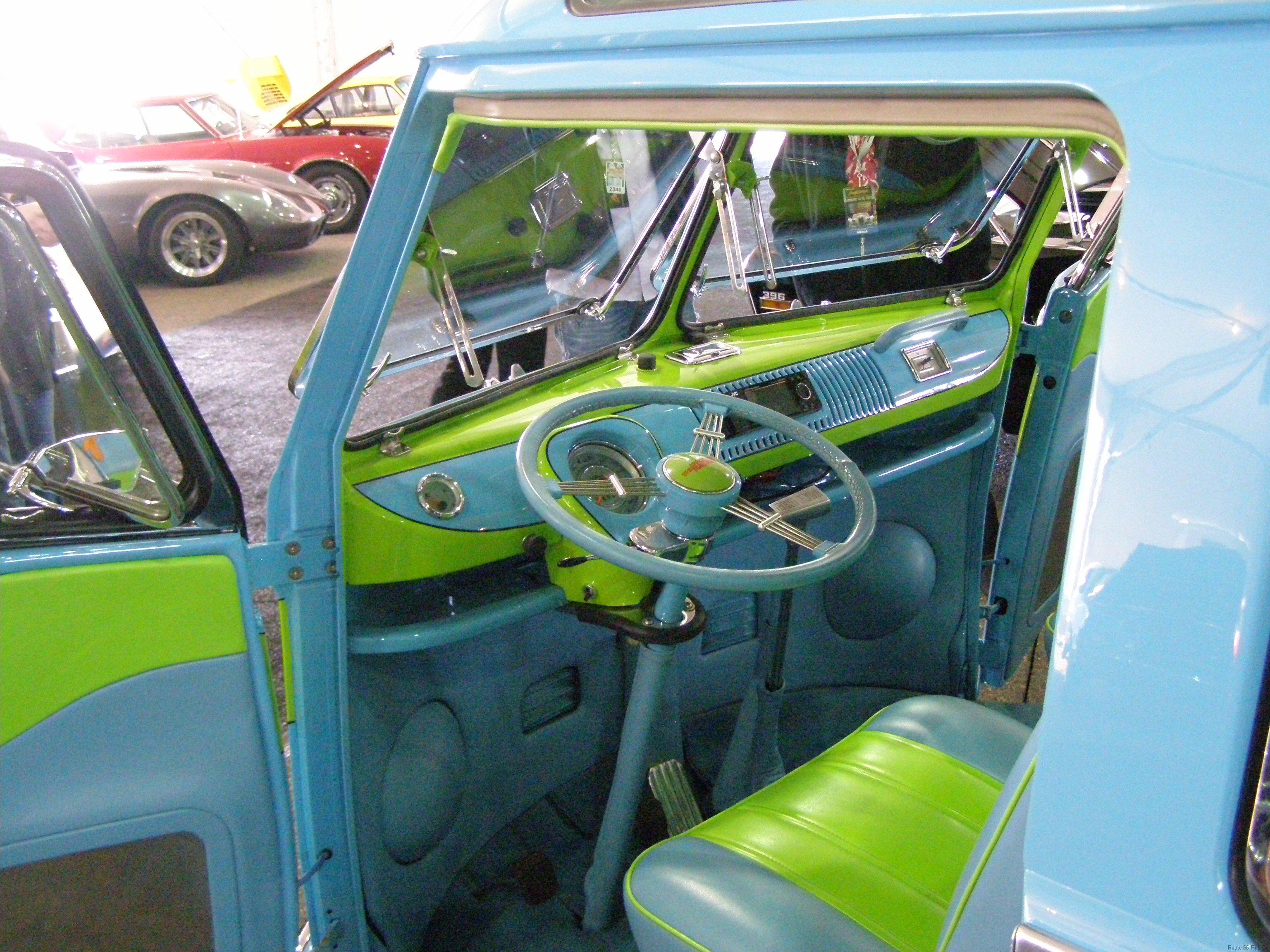 1967 Volkswagen driver's interior view