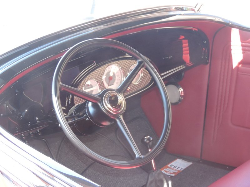 35 Chevy Interior
