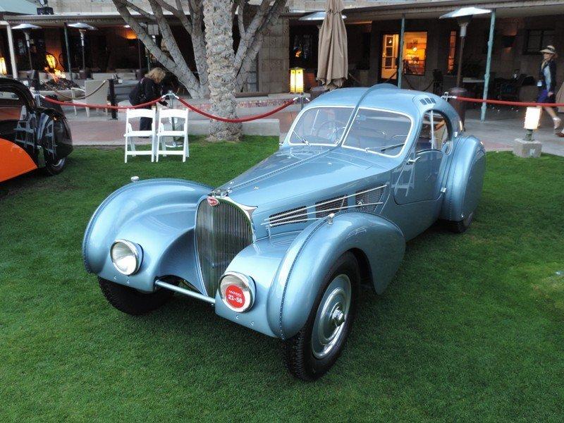 Bugatti Driver Side