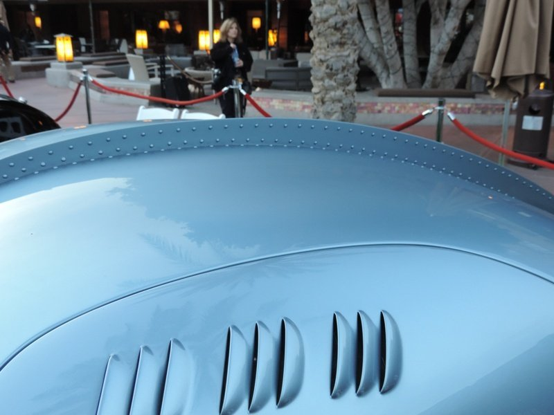 Bugatti Rivets on Roofline