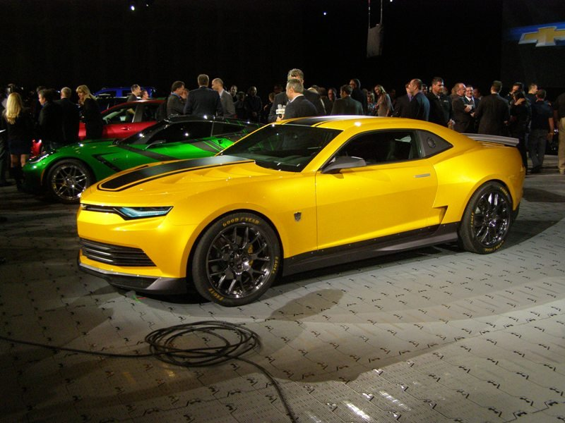 bumble-bee Camaro