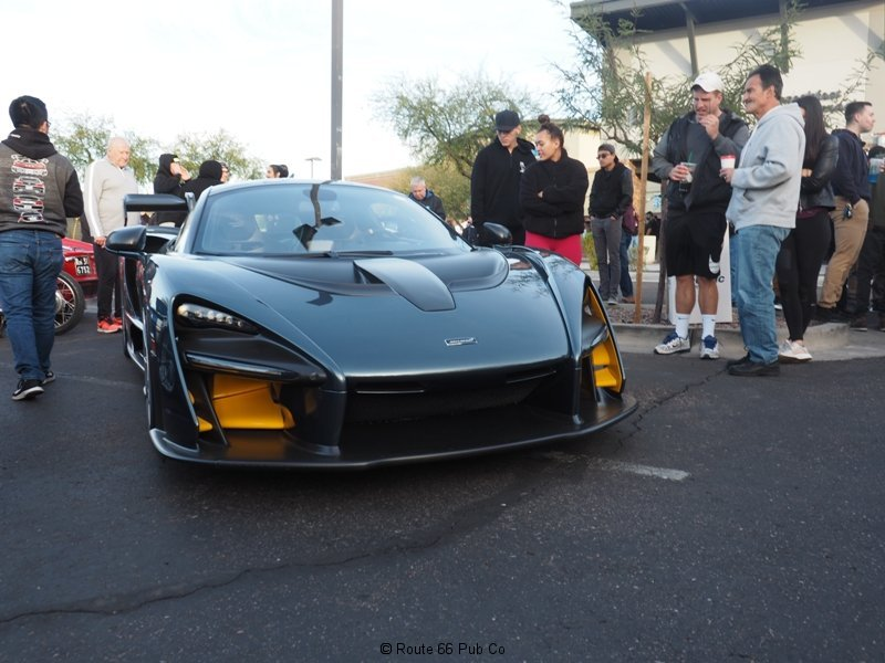 Cars and Coffee Senna McLaren