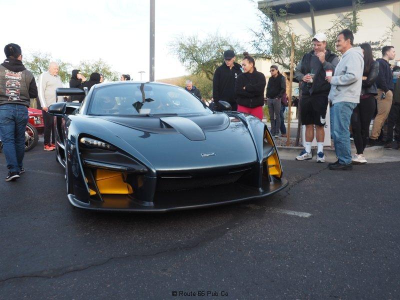 Cars and Coffee Senna McLaren