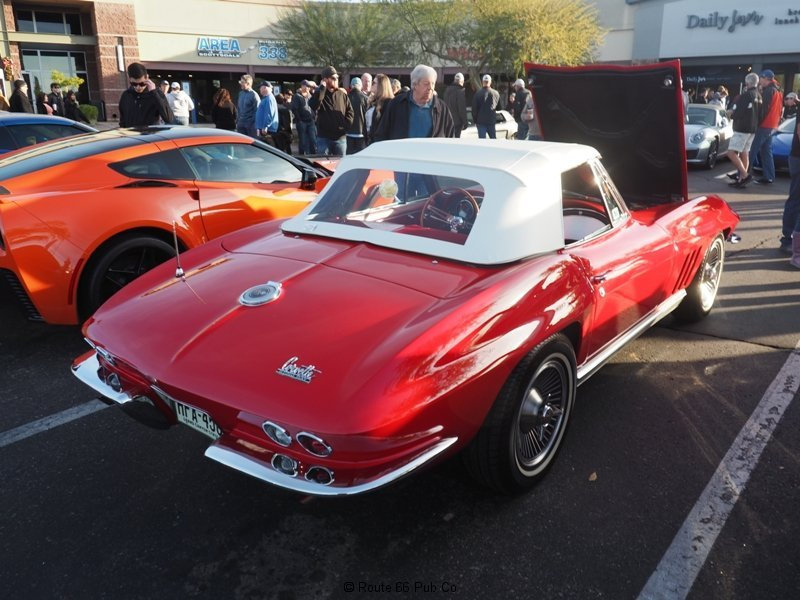 Cars and Coffee Corvette Roadster