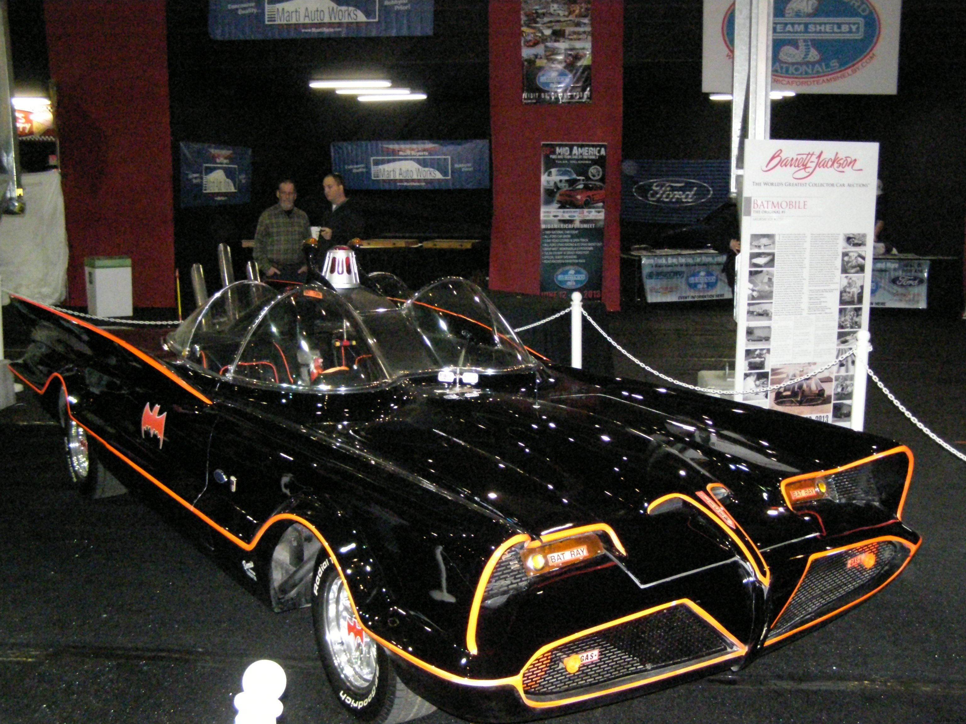 Batmobile right side