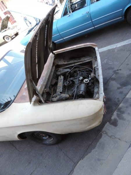 Corvair engine
