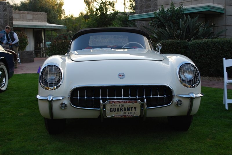 1953 Corvette front end