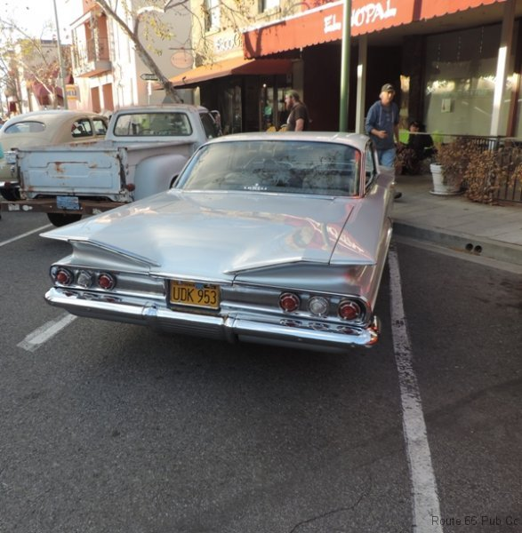 60 Chevy Rear