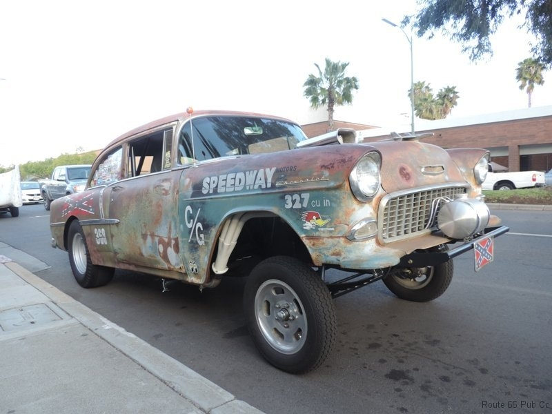 55 Gasser Front View