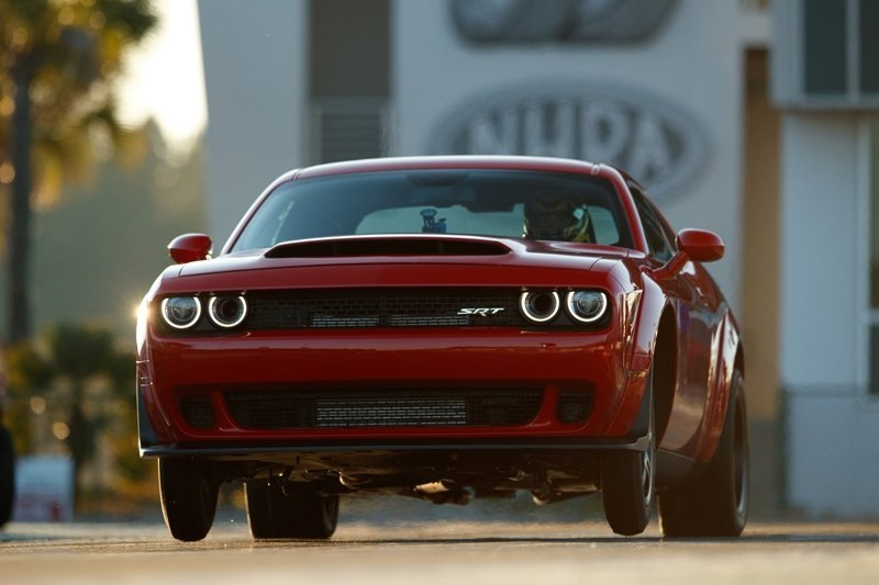 Dodge Demon Wheels Up