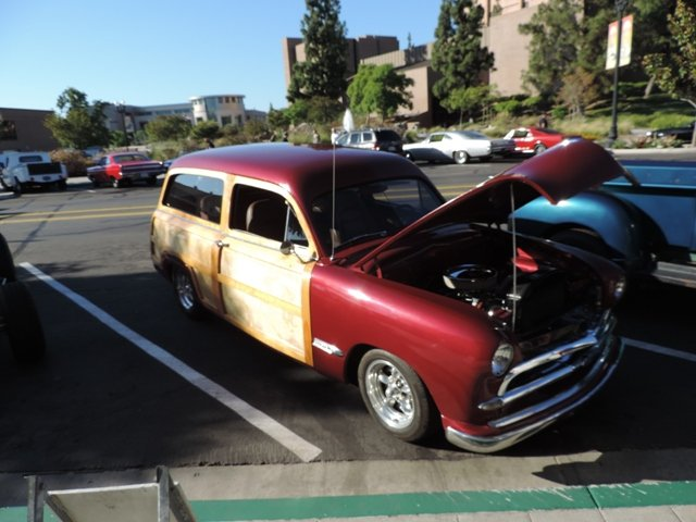 El Cajon Cruise Night Woodie