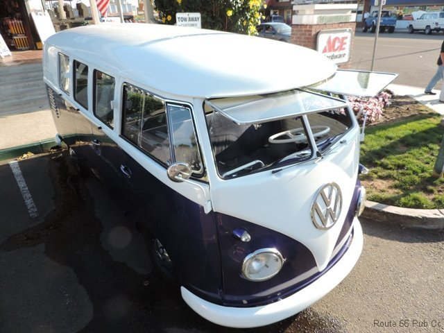 Volkswagon with Tilt Windshield