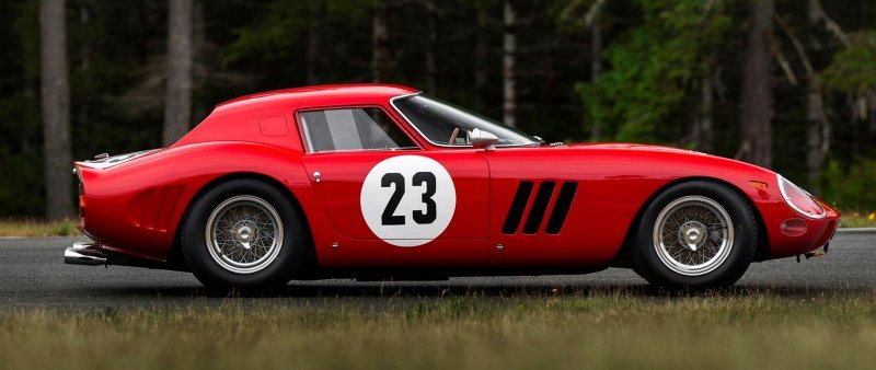 Ferrari 250 GTO Passenger Side