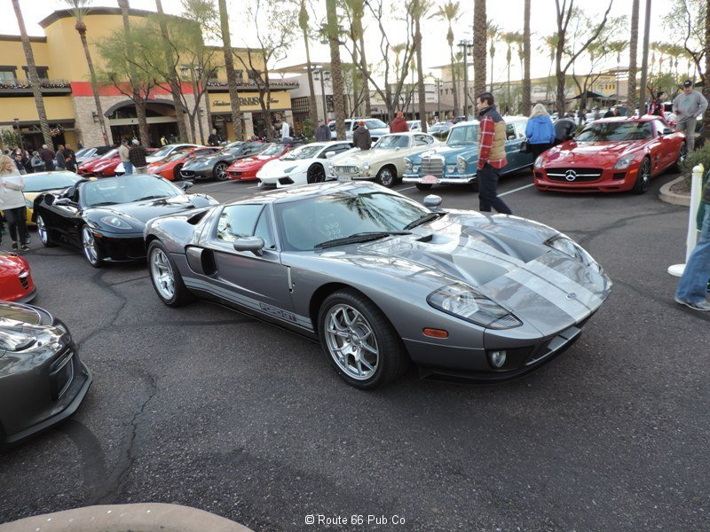 Ford GT in Gray