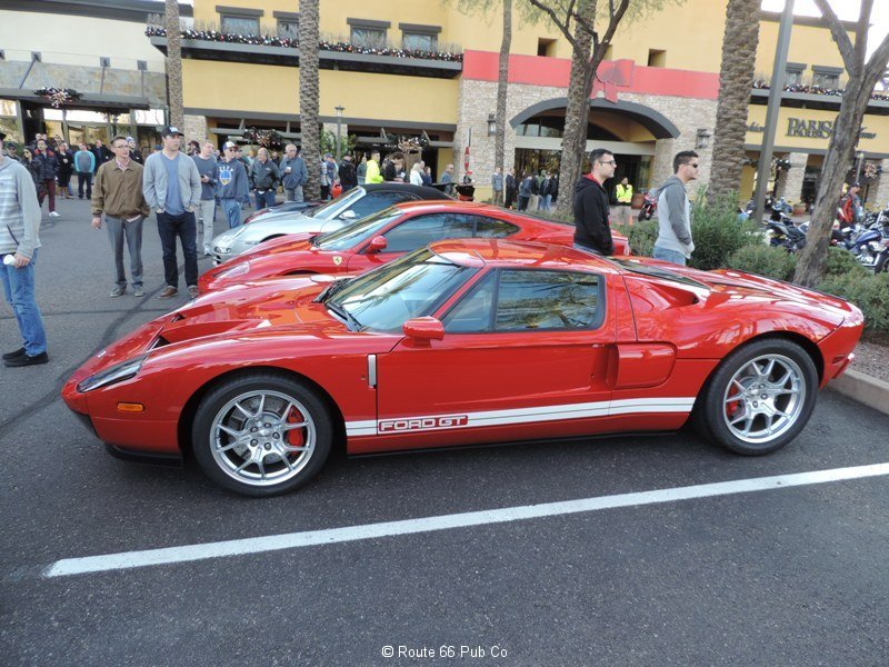 Ford GT in Red