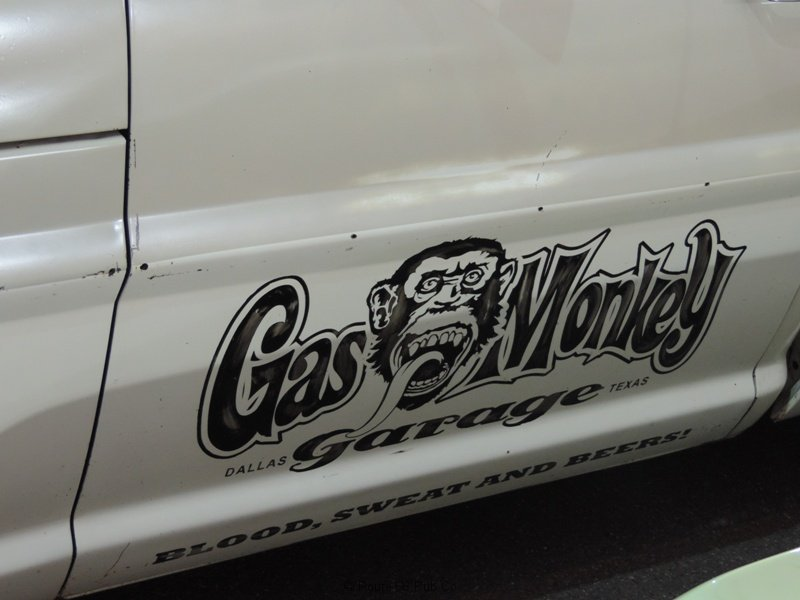 Gas Monkey Garage Emblem Too