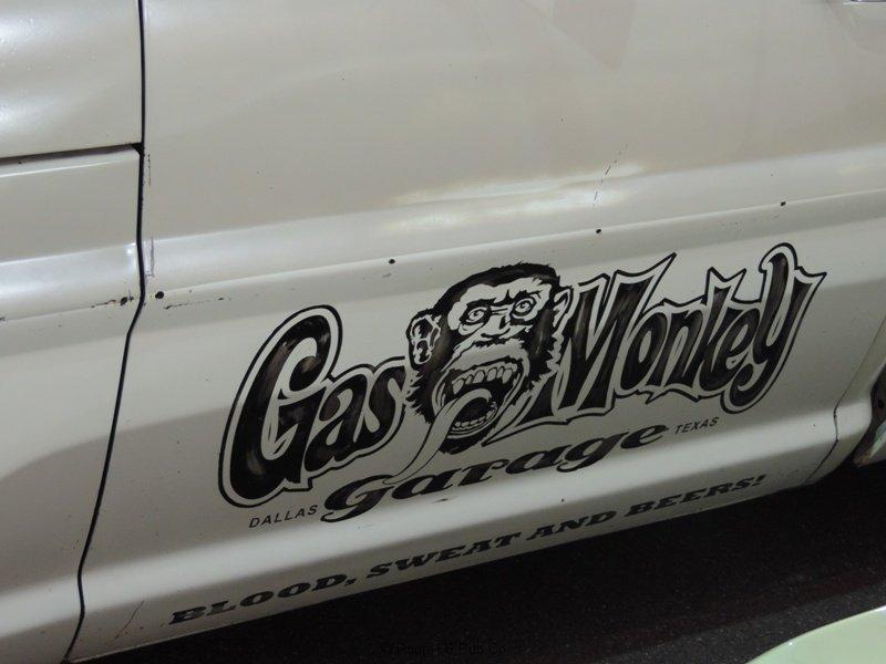 Gas Monkey Garage Emblem Too