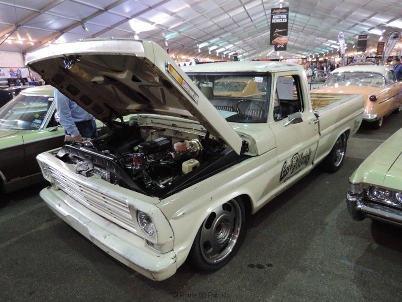 Gas Monkey Garage 69 Ford Hood Up