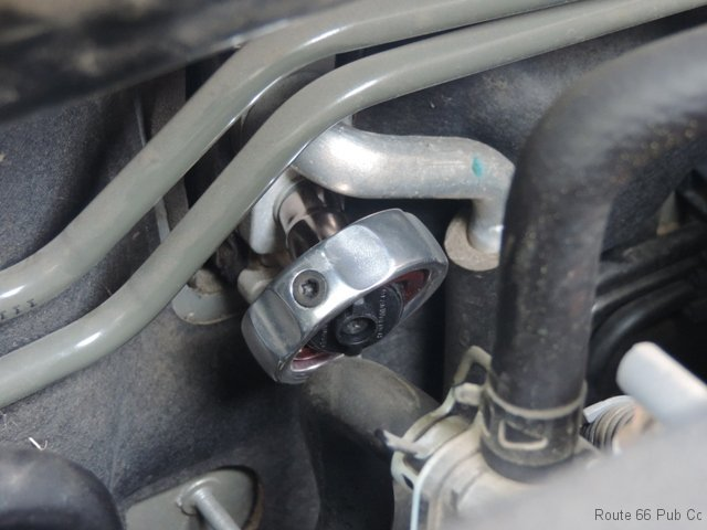 Gearwrench Gimbal Ratchet on Fastener