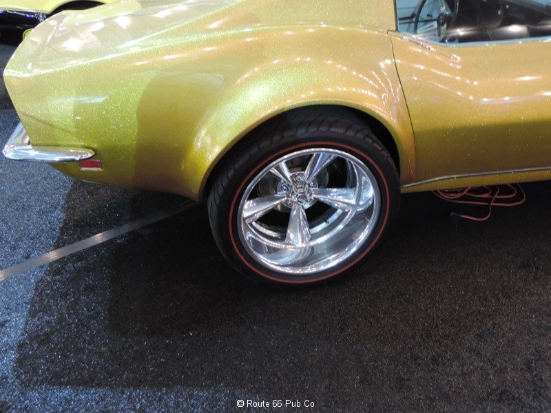 Gas Monkey Garage 68 Corvette Redline Tires