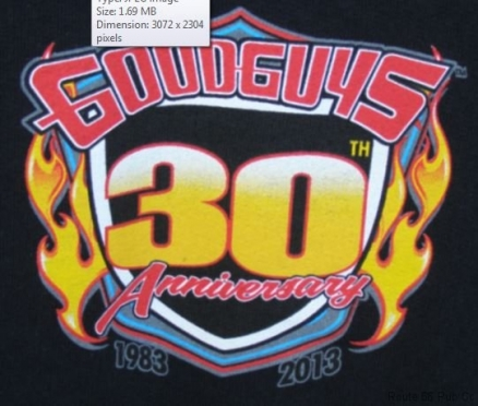 Goodguys anniversary logo