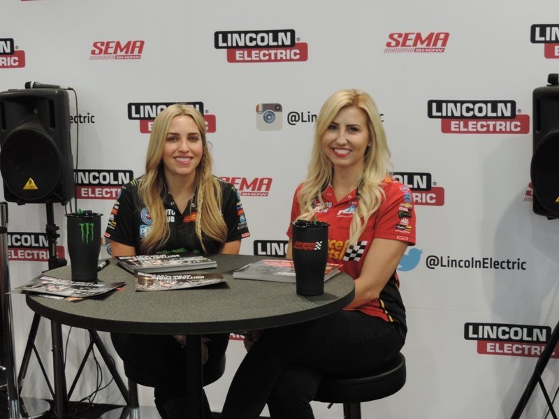 Hero Card Signing with Force Sisters