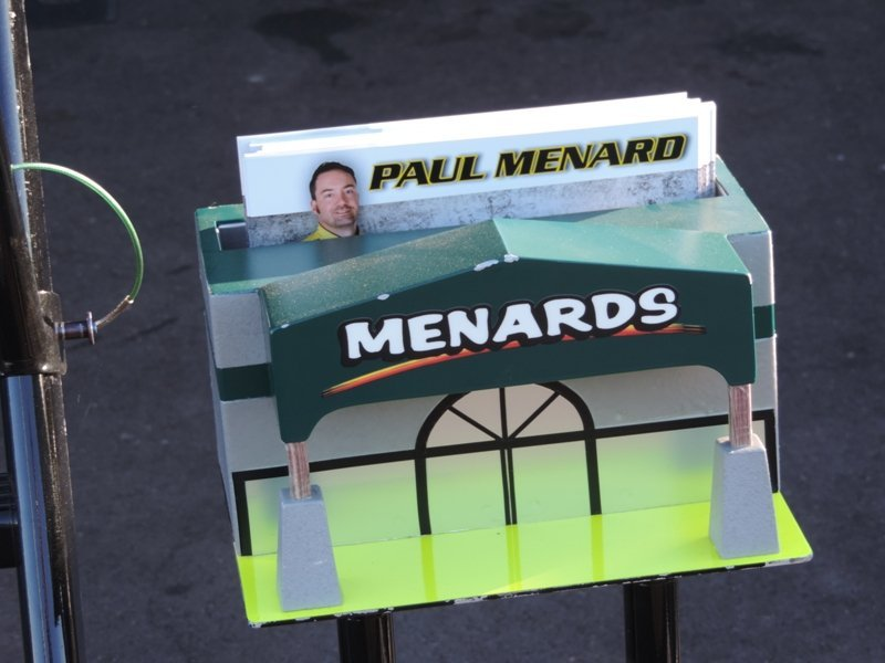 Menard Display Closeup