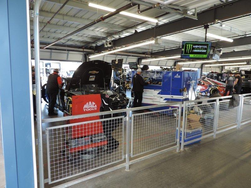 ISM Raceway Garage