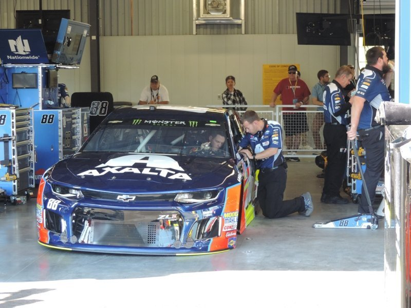 ISM Raceway Garage Area