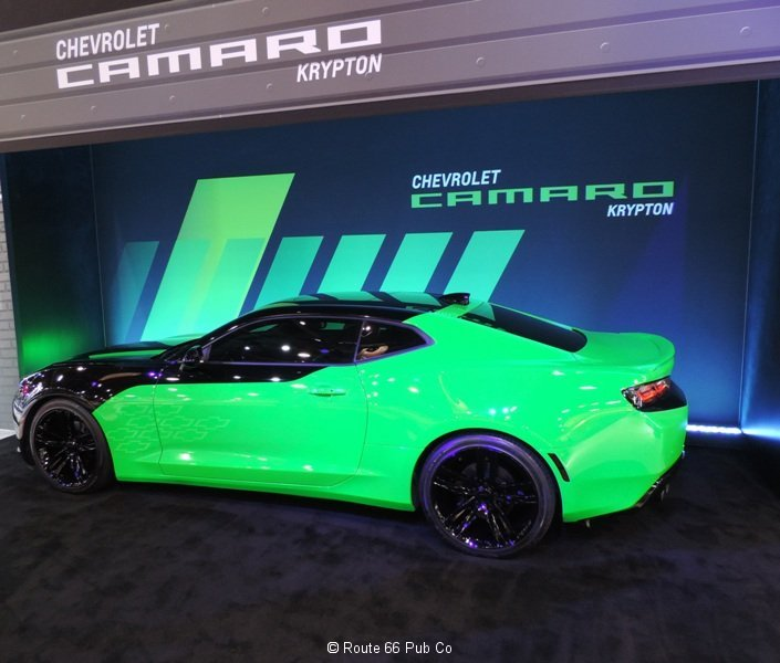 Krypton Green 2016 Camaro