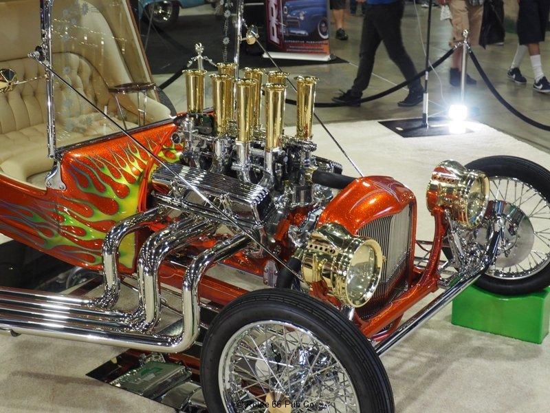 Leg Show T-Bucket Engine