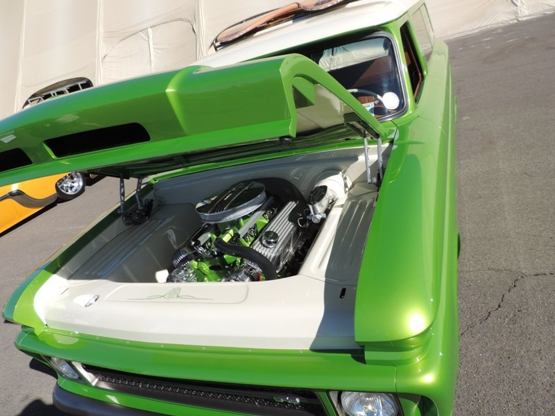 Lime Crush Hood Open